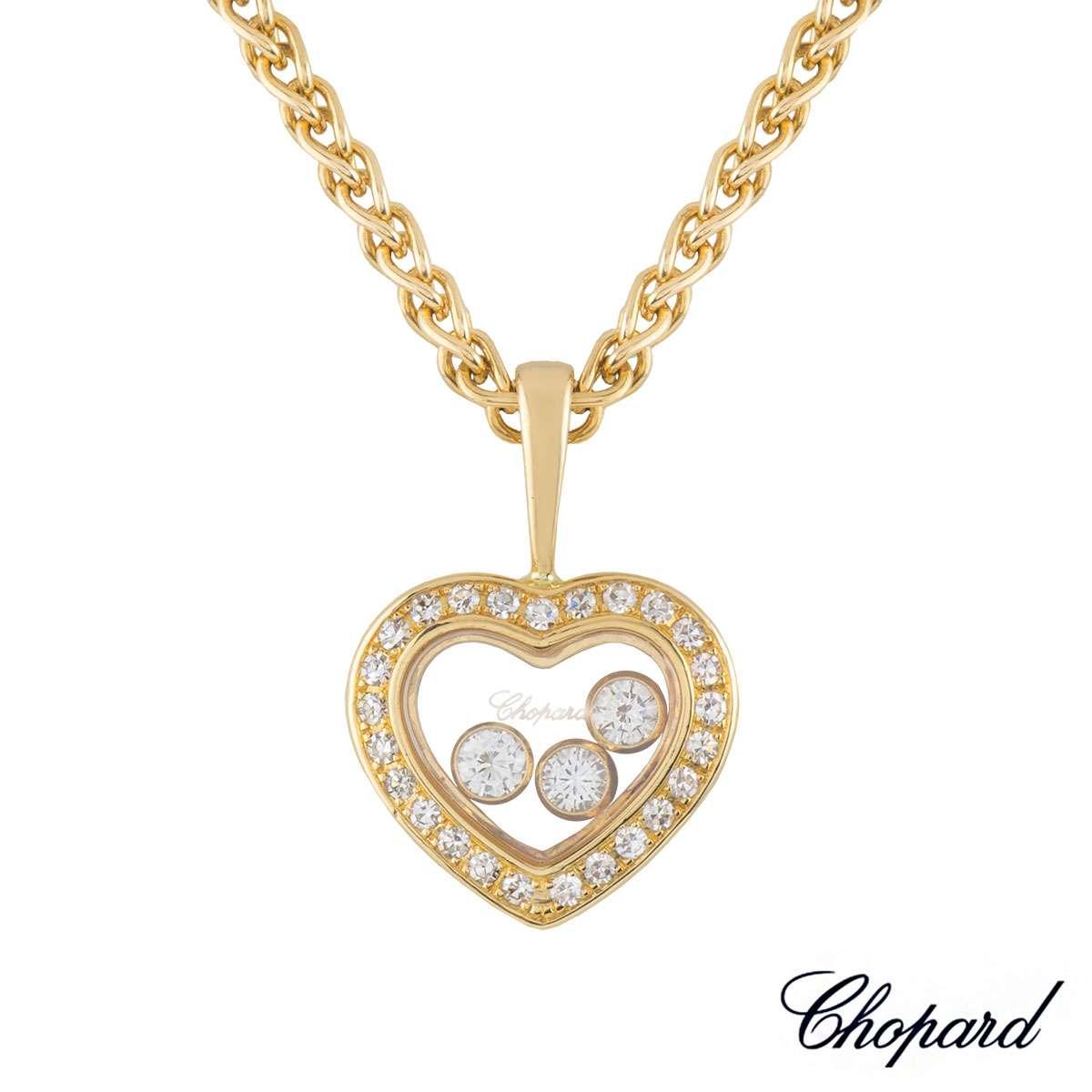 Chopard yellow gold happy diamonds pendant 799203 0003 rich chopard yellow gold happy diamonds pendant 799203 0003 aloadofball Gallery